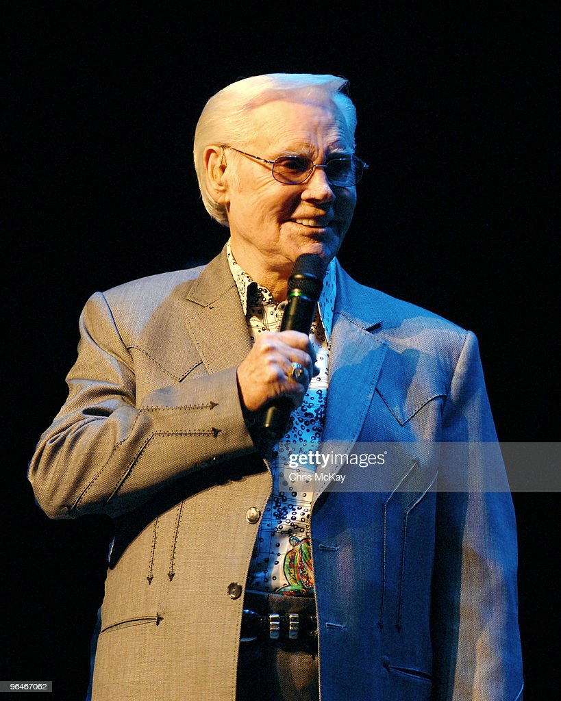 George Jones performs at the Classic Center on February 5, 2010 in Athens, Georgia.