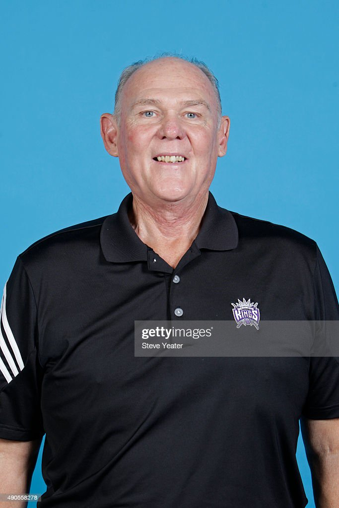 <a gi-track='captionPersonalityLinkClicked' href=/galleries/search?phrase=George+Karl&family=editorial&specificpeople=204519 ng-click='$event.stopPropagation()'>George Karl</a> of the Sacramento Kings poses for a head shot on media day September 28, 2015 at the Kings practice facility in Sacramento, California.