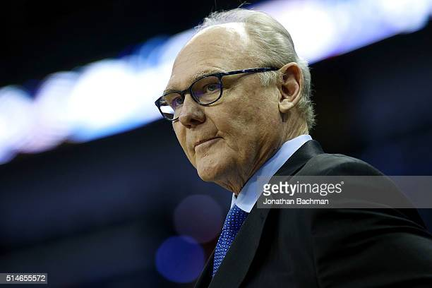 George Karl of the Sacramento Kings reacts before a game at Smoothie King Center on March 7 2016 in New Orleans Louisiana NOTE TO USER User expressly...