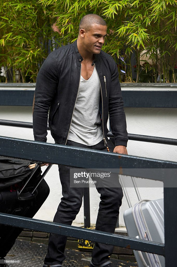 George Kay sighted departing ITV Studios on May 28, 2013 in London, England.