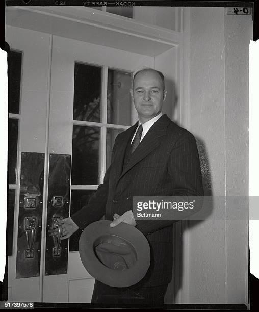 George Kennan Pausing at Door