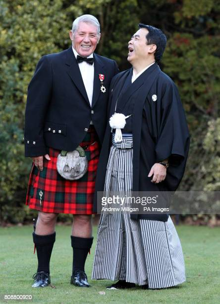 George Kerr receives the Order of the Rising Sun one of Japan's highest honours from Japanese Consul General Mr Masataka Tarahara on behalf of the...