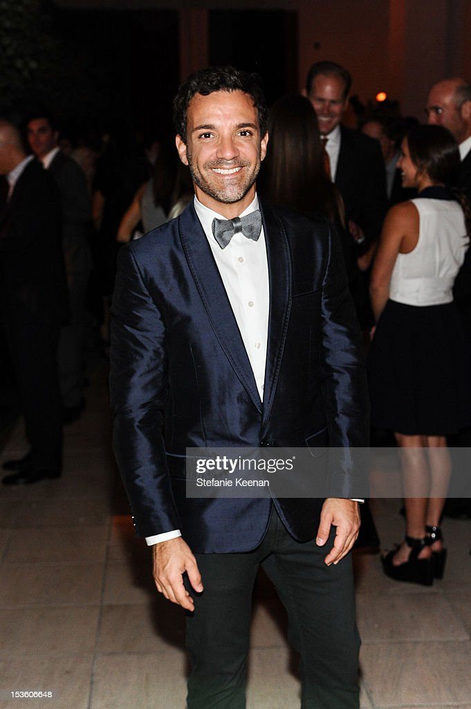 <a gi-track='captionPersonalityLinkClicked' href=/galleries/search?phrase=George+Kotsiopoulos&family=editorial&specificpeople=2530004 ng-click='$event.stopPropagation()'>George Kotsiopoulos</a> attends 2012 Hammer Gala at Hammer Museum on October 6, 2012 in Westwood, California.