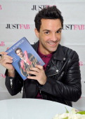George Kotsiopoulos attends 'Glamorous By George' book launch at JustFab flagship store at Glendale Galleria on January 15 2014 in Glendale California