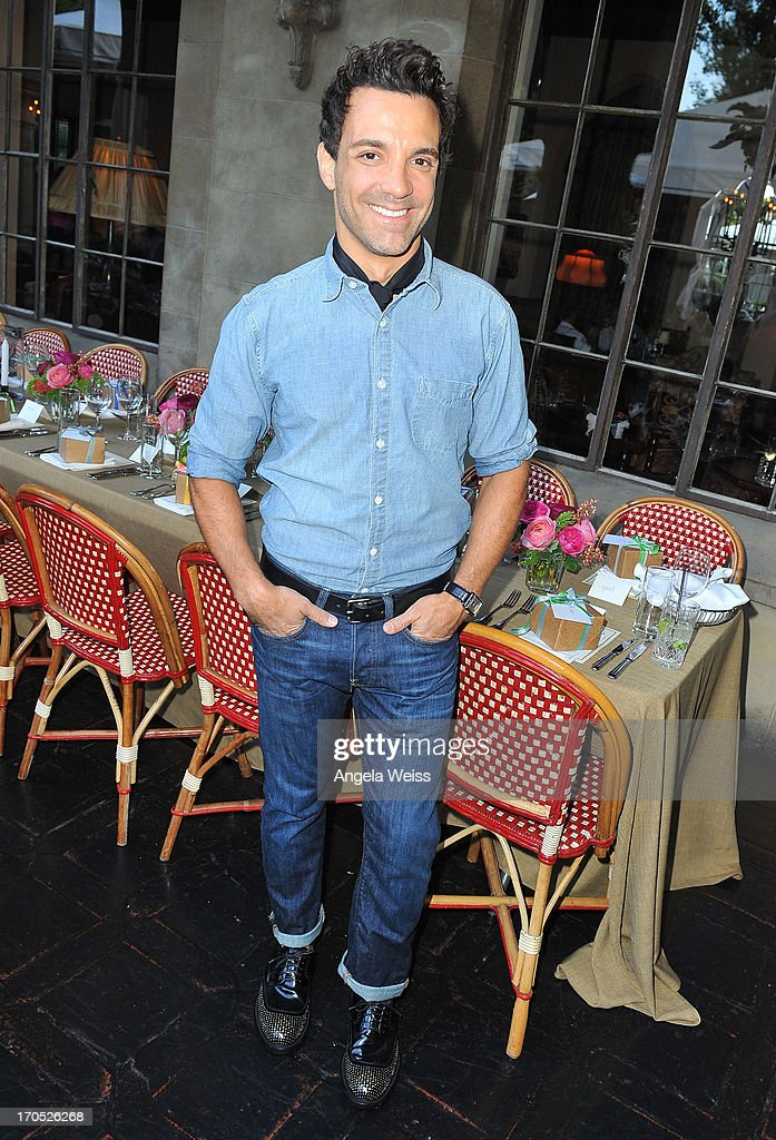 George Kotsiopoulos attends Lucky Brand's Measure of Style Dinner at Chateau Marmont on June 13, 2013 in Los Angeles, California.