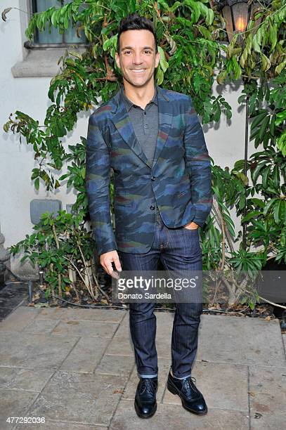 George Kotsiopoulos attends The Max Mara 2015 Women In Film Face Of The Future event at Chateau Marmont on June 15 2015 in West Hollywood California