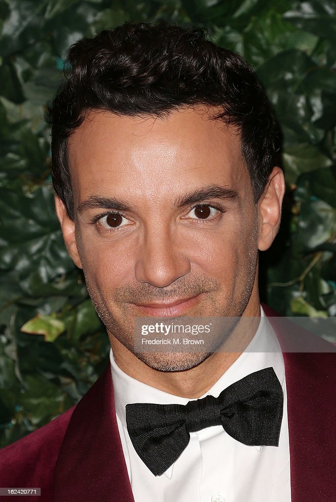 George Kotsiopoulos attends the QVC Red Carpet Style Event, at the Four Seasons Hotel Los Angeles on February 22, 2013 in Beverly Hills, California.