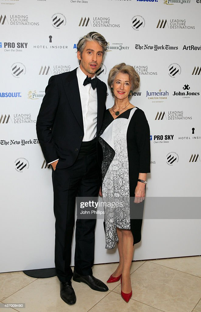 George Lamb and Maureen Lipman attend the Leading Cultural Destination awards at Jumeirah Carlton Tower on October 10 2014 in London England