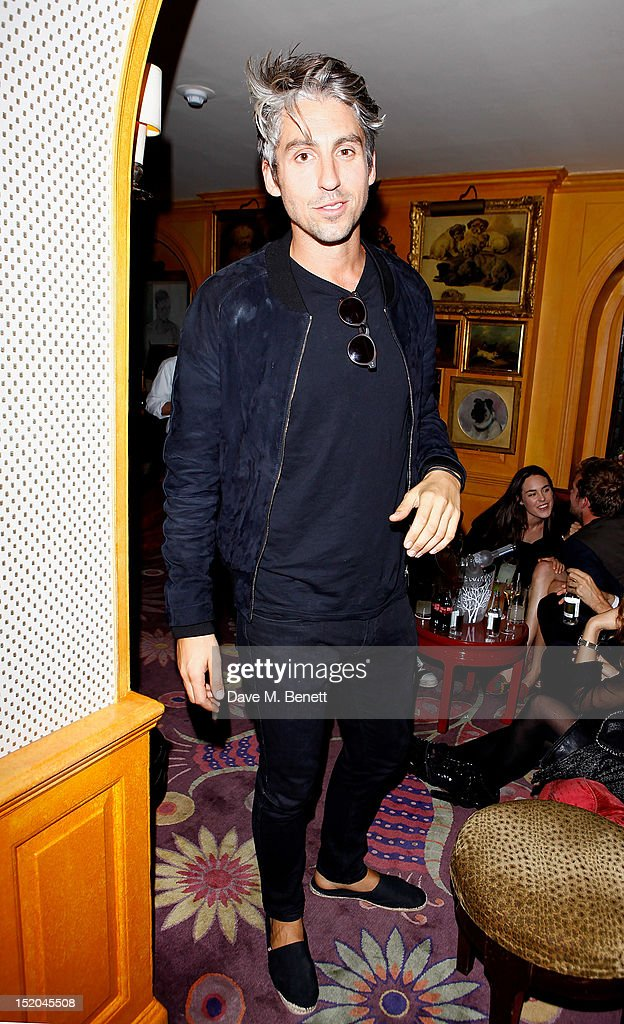 George Lamb attends a private party celebrating the launch of A/W12 AnOther Magazine and the UK opening of Rag Bone's London Flagship store at...