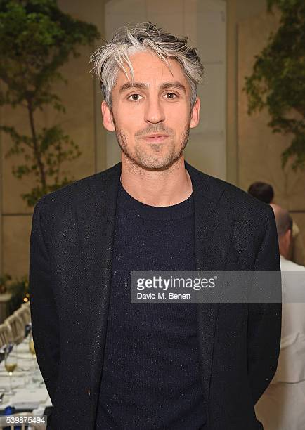 George Lamb attends Kit and Ace x GQ Gentleman's Social in celebration of LCM on June 13 2016 in London England