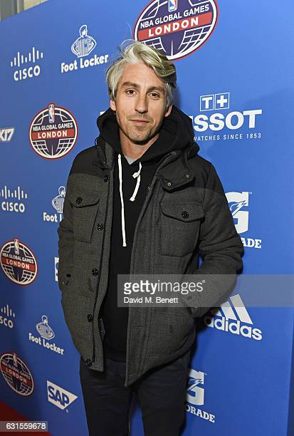George Lamb attends the Denver Nuggets v Indiana Pacers game during NBA Global Games London 2017 at The O2 Arena on January 12 2017 in London England