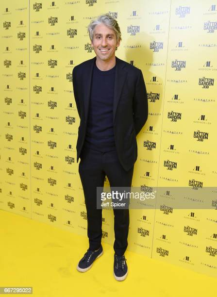George Lamb attends 'The Hatton Garden Job' world premiere at the Curzon Soho on April 11 2017 in London England