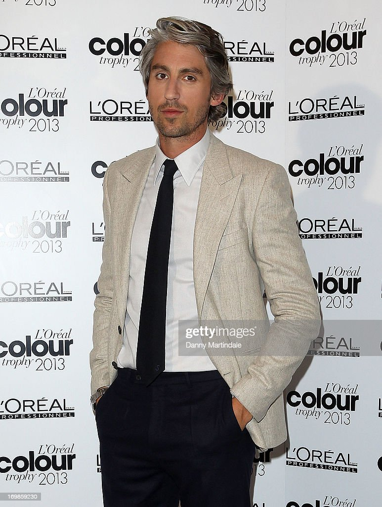 <a gi-track='captionPersonalityLinkClicked' href=/galleries/search?phrase=George+Lamb&family=editorial&specificpeople=2011003 ng-click='$event.stopPropagation()'>George Lamb</a> attends the L'Oreal Colour Trophy Awards 2013 at Grosvenor House, on June 3, 2013 in London, England.