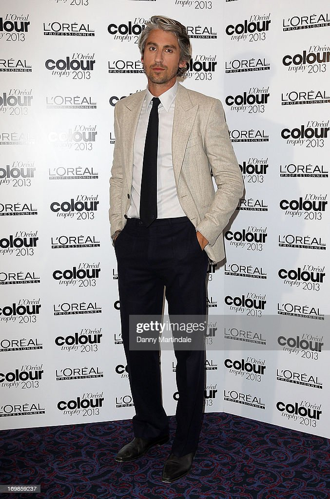 George Lamb attends the L'Oreal Colour Trophy Awards 2013 at Grosvenor House, on June 3, 2013 in London, England.