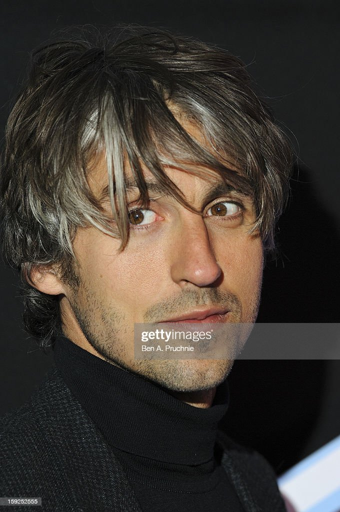 George Lamb attends the Lynx L.S.A launch event at Wimbledon Studios on January 10, 2013 in London, England.