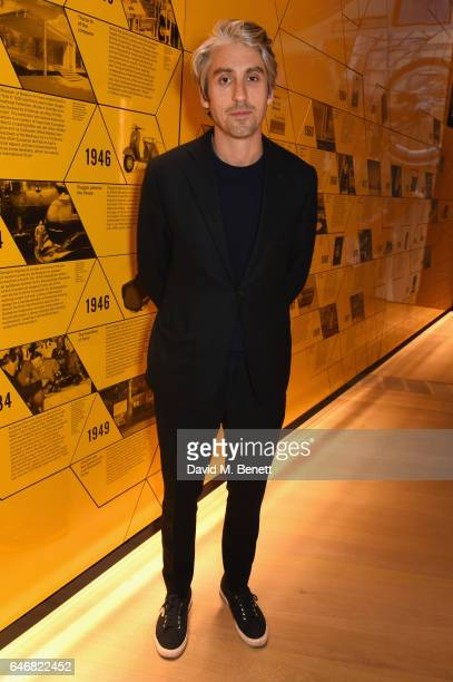 George Lamb attends the world premiere launch of the new Range Rover Velar at Design Museum on March 1 2017 in London England
