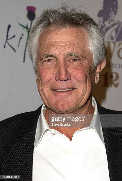 George Lazenby during Celebrities Bare Legs For Dewar's Dressed To Kilt Charity Event Arrivals at Wiltern Theatre in Los Angeles California United...