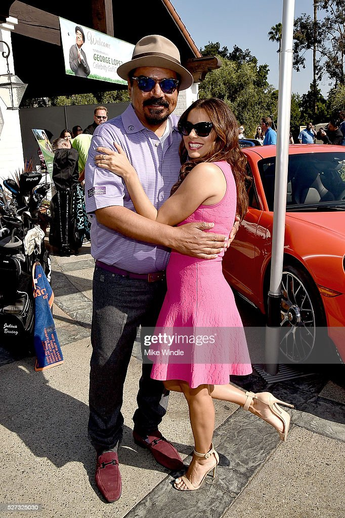 <a gi-track='captionPersonalityLinkClicked' href=/galleries/search?phrase=George+Lopez&family=editorial&specificpeople=202546 ng-click='$event.stopPropagation()'>George Lopez</a> (L) and actress <a gi-track='captionPersonalityLinkClicked' href=/galleries/search?phrase=Eva+Longoria&family=editorial&specificpeople=202082 ng-click='$event.stopPropagation()'>Eva Longoria</a> attends the 9th Annual <a gi-track='captionPersonalityLinkClicked' href=/galleries/search?phrase=George+Lopez&family=editorial&specificpeople=202546 ng-click='$event.stopPropagation()'>George Lopez</a> Celebrity Golf Classic to benefit The <a gi-track='captionPersonalityLinkClicked' href=/galleries/search?phrase=George+Lopez&family=editorial&specificpeople=202546 ng-click='$event.stopPropagation()'>George Lopez</a> Foundation at Lakeside Golf Club on May 2, 2016 in Burbank, California.