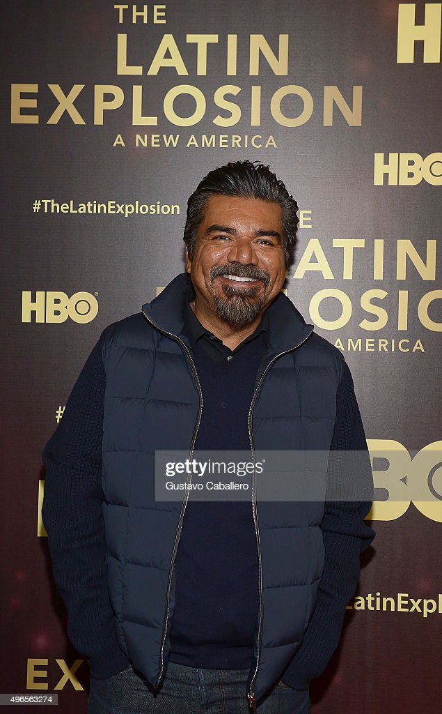 George Lopez attends the 'The Latin Explosion A New America' Premiere Screening on November 10 2015 in New York City