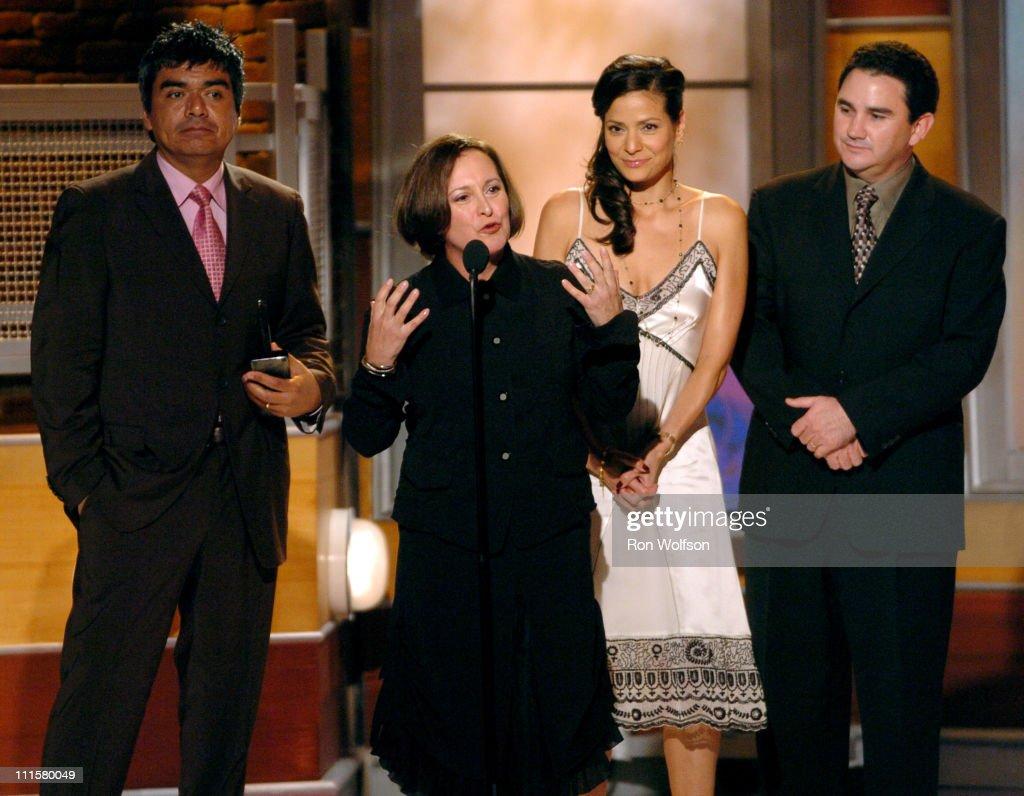 George Lopez Belita Moreno Constance Marie and Valente Rodriguez