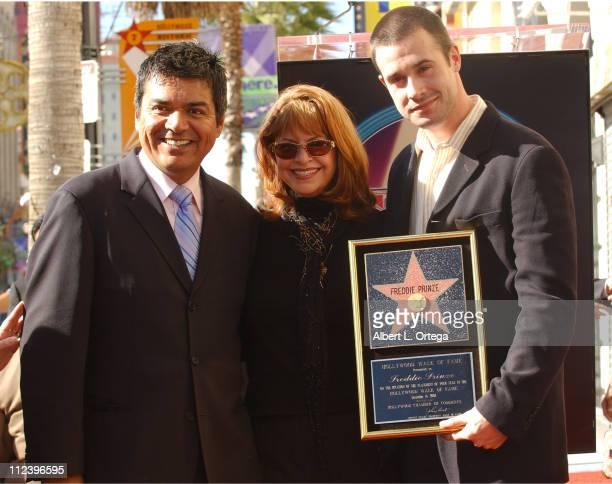 George Lopez Kathy Cochran and Freddie Prinze Jr