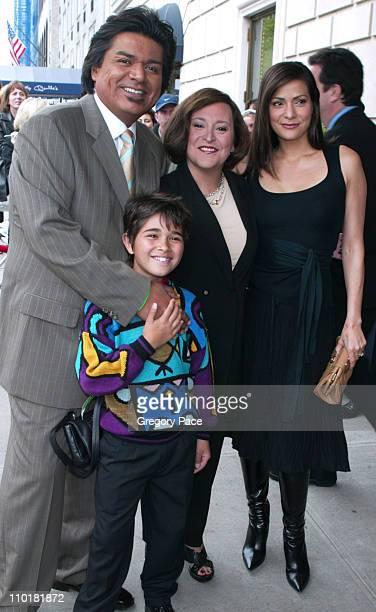 George Lopez Luis Armand Garcia Belita Moreno and Constance Marie