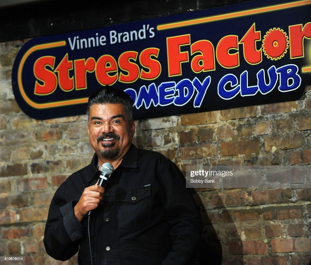 George Lopez Performs At The Stress Factory