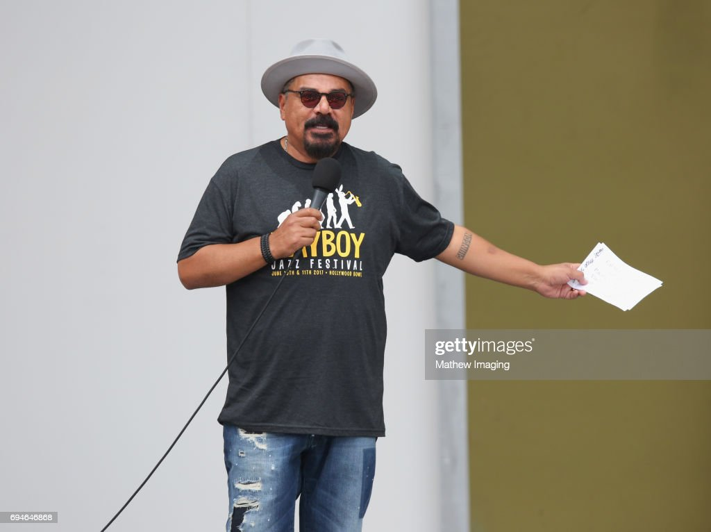 George Lopez speaks onstage at Hollywood Bowl Presents the 39th Anniversary Playboy Jazz Festival at the Hollywood Bowl on June 10, 2017 in Hollywood, California.