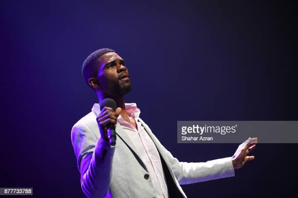 George Lovett performs during Amateur Night At The Apollo Super Top Dog at The Apollo Theater on November 22 2017 in New York City Photo by Shahar...