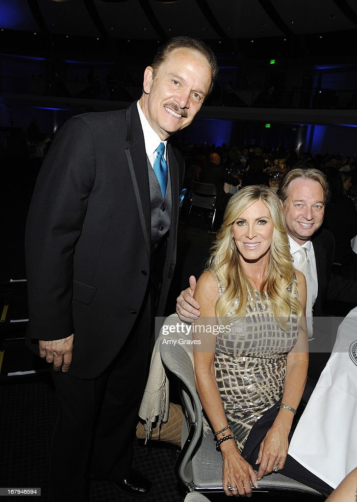 George Lozano, Lauri Peteson and George Peterson attend A Magical Night of Hope at Skirball Cultural Center on May 2, 2013 in Los Angeles, California.