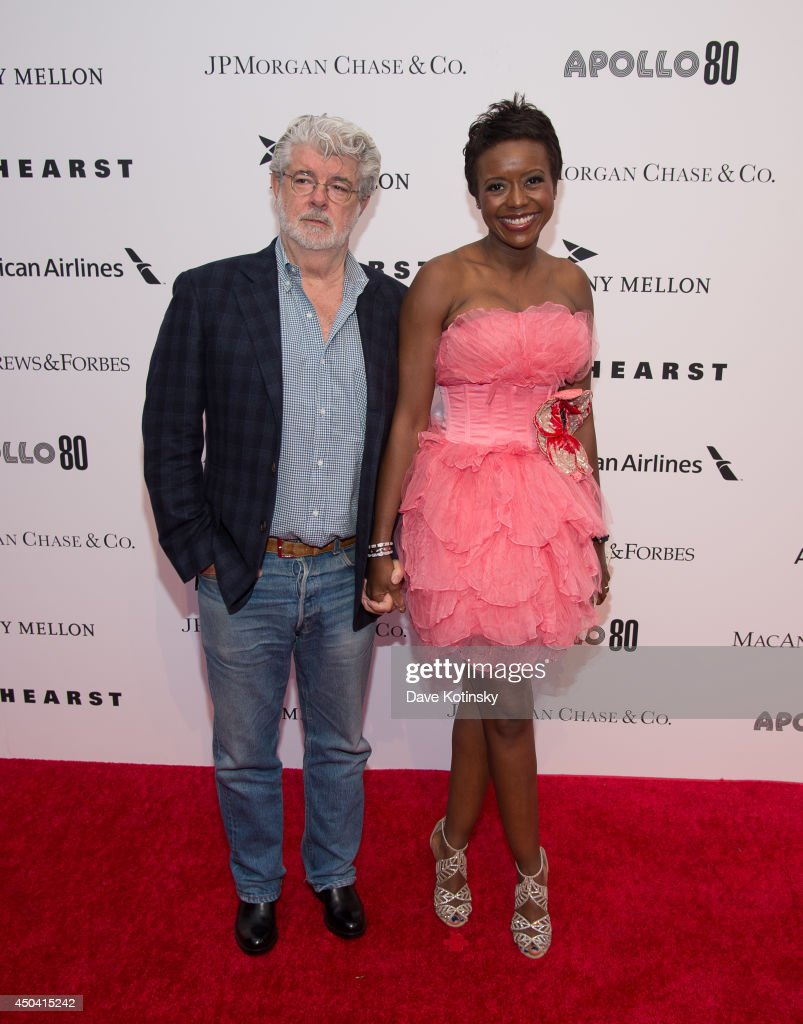 <a gi-track='captionPersonalityLinkClicked' href=/galleries/search?phrase=George+Lucas&family=editorial&specificpeople=202500 ng-click='$event.stopPropagation()'>George Lucas</a> and <a gi-track='captionPersonalityLinkClicked' href=/galleries/search?phrase=Mellody+Hobson&family=editorial&specificpeople=2572145 ng-click='$event.stopPropagation()'>Mellody Hobson</a> attends the Apollo Spring Gala and 80th Anniversary Celebration>> at The Apollo Theater on June 10, 2014 in New York City.