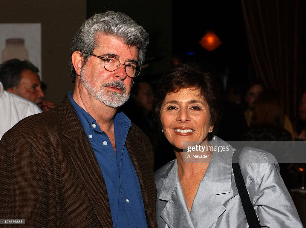 <a gi-track='captionPersonalityLinkClicked' href=/galleries/search?phrase=George+Lucas&family=editorial&specificpeople=202500 ng-click='$event.stopPropagation()'>George Lucas</a> and Senator <a gi-track='captionPersonalityLinkClicked' href=/galleries/search?phrase=Barbara+Boxer&family=editorial&specificpeople=169888 ng-click='$event.stopPropagation()'>Barbara Boxer</a> (D-CA) during 25th Mill Valley Film Festival - Post-Screening Party at Lapis Restaurant in San Francisco, California, United States.