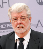 George Lucas arrives at the 44th AFI Life Achievement Awards Gala Tribute to John Williams at Dolby Theatre on June 9 2016 in Hollywood California