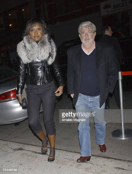 George Lucas arrives at the Sundance Institute's 25th Anniversary Gala at Metropolitan Pavilion November 6 2006 in New York City