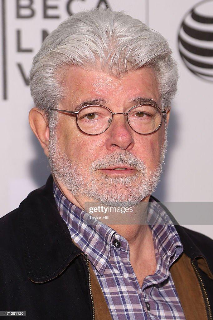 George Lucas attends 2015 Tribeca Film Festival - Tribeca Talks ...