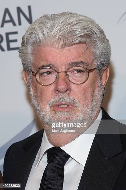 George Lucas attends the 2015 American Theatre Wing's Gala at The Plaza Hotel on September 28 2015 in New York City