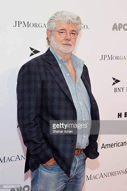 George Lucas attends the Apollo Spring Gala and 80th Anniversary Celebration at The Apollo Theater on June 10 2014 in New York City