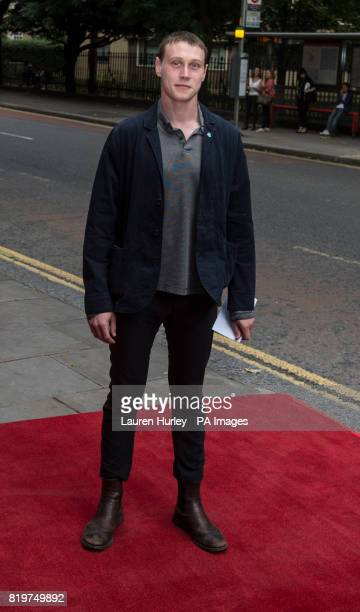 George Mackay attending the opening night of Sadleracircs Wells summer tango spectacular Tanguera in London
