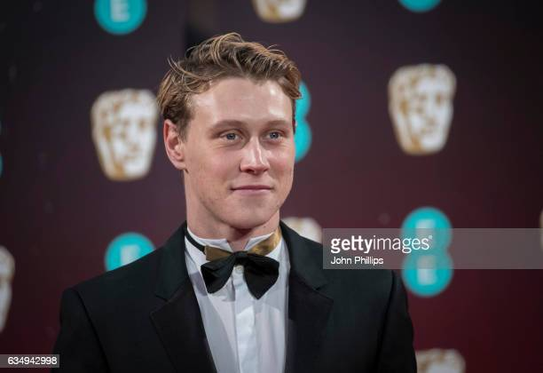 George MacKay attends the 70th EE British Academy Film Awards at Royal Albert Hall on February 12 2017 in London England