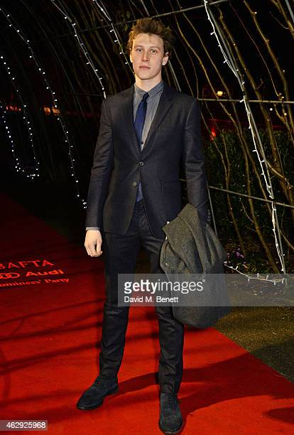 George MacKay attends the EE British Academy Awards nominees party at Kensington Palace on February 7 2015 in London England