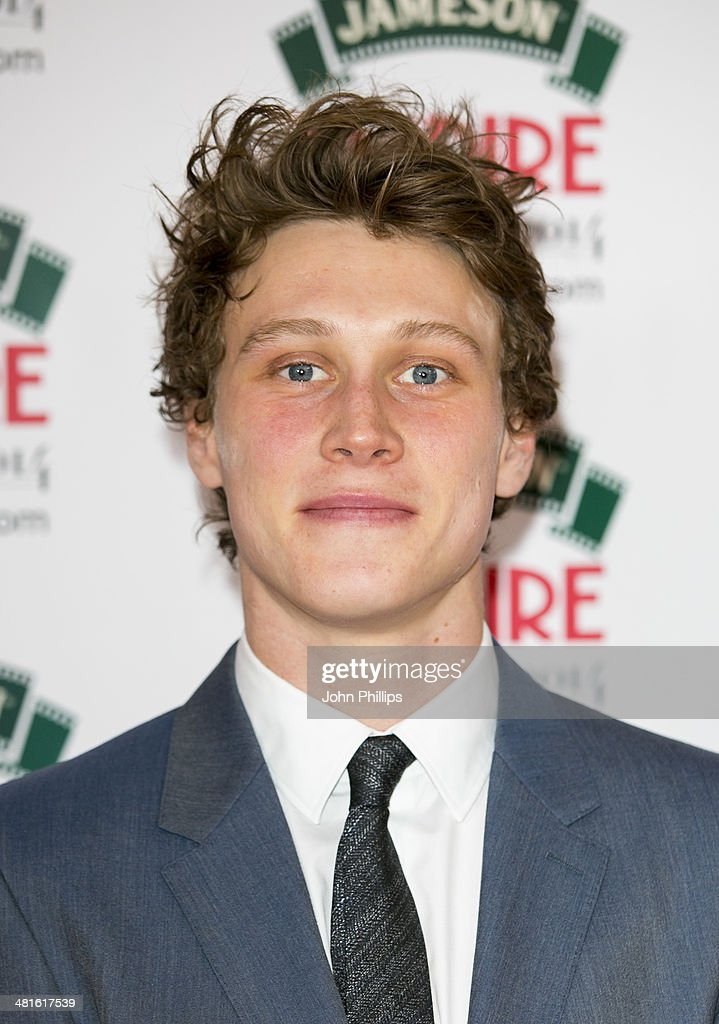 George MacKay attends the Jameson Empire Film Awards at The Grosvenor House Hotel on March 30, 2014 in London, England.
