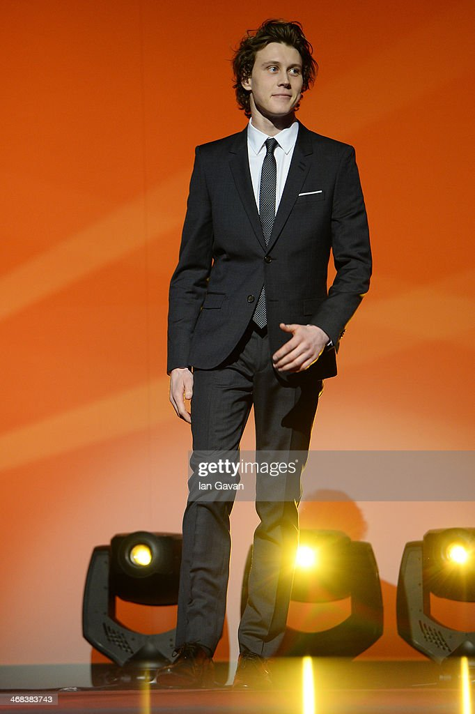 George Mackay on stage at the Shooting Stars stage presentation during the 64th Berlinale International Film Festival at the Berlinale Palast on February 10, 2014 in Berlin, Germany.