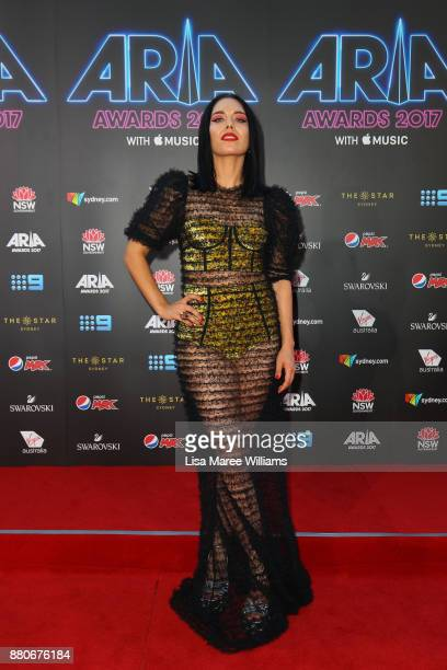 George Maple arrives for the 31st Annual ARIA Awards 2017 at The Star on November 28 2017 in Sydney Australia