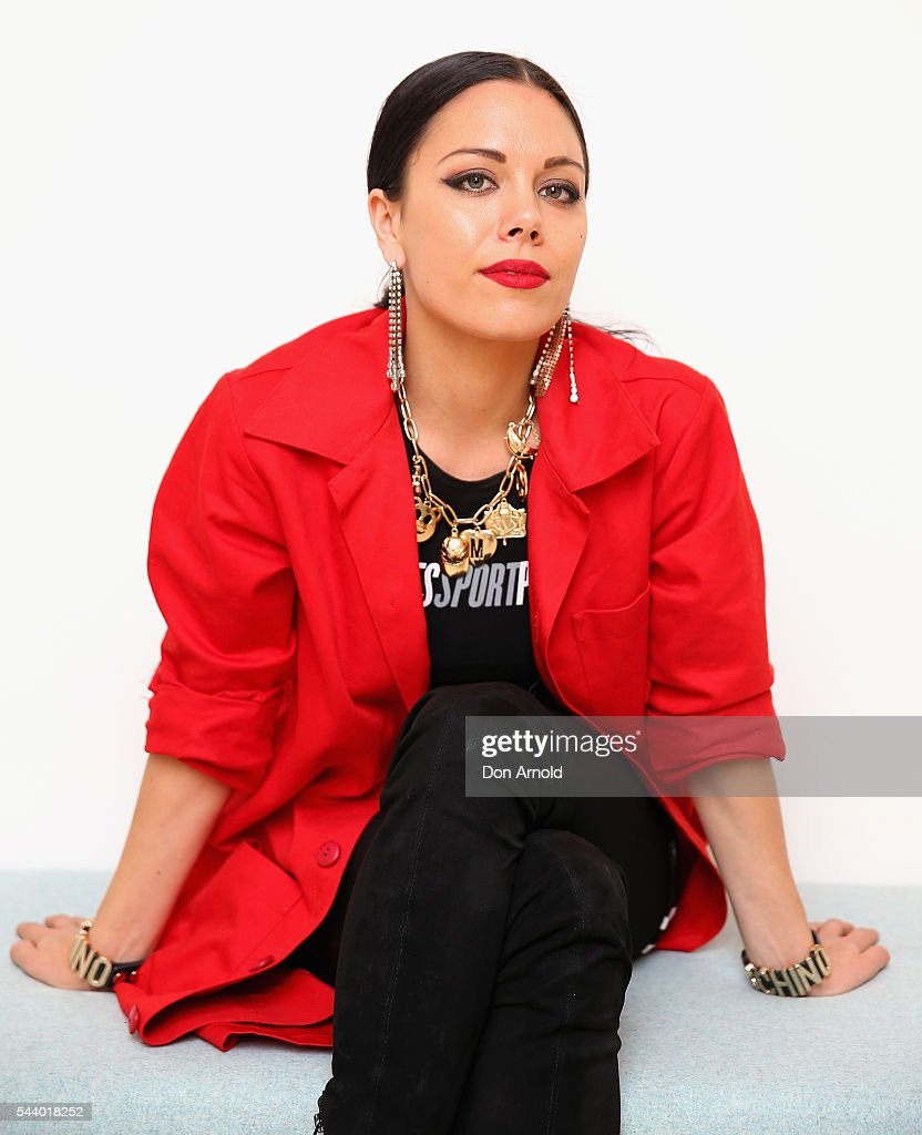George Maple poses at TwitterAU on July 1, 2016 in Sydney, Australia.