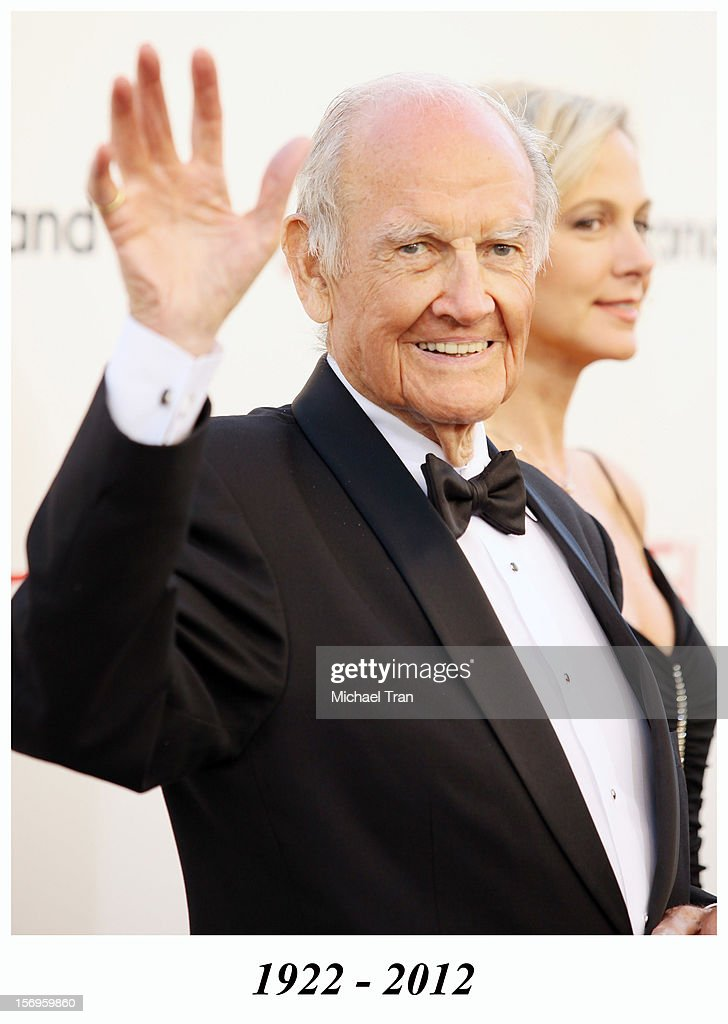 George McGovern arrives at TV Land Presents: AFI Life Achievement Award honoring Shirley MacLaine held at Sony Studios on June 7, 2012 in Los Angeles, California. George McGovern died in 2012.