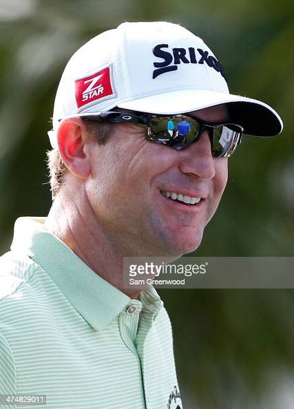George McNeill smiles during a practice round prior to The Honda Classic at PGA National Resort and Spa on February 25 2014 in Palm Beach Gardens...