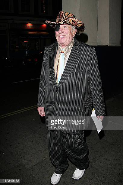 George Melly during 'An Evening for Mo and Friends' to Remember Mo Mowlam November 20 2005 at Theatre Royal Drury Lane in London Great Britain
