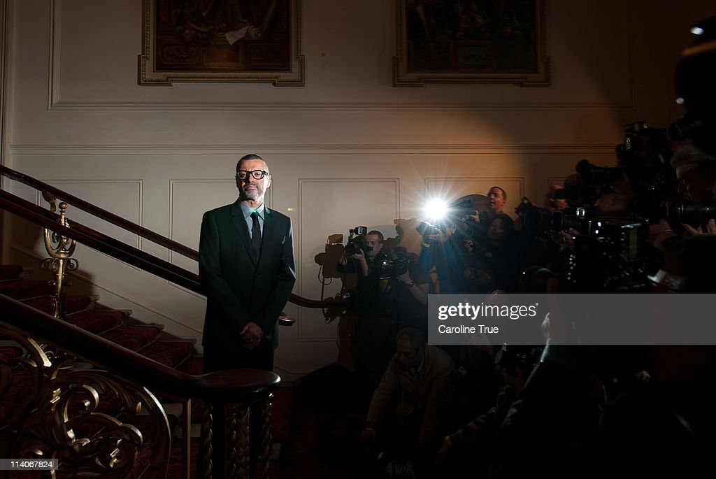 George Michael attends a press conference announcing details of his new tour at The Royal Opera House on May 11, 2011 in London, England.