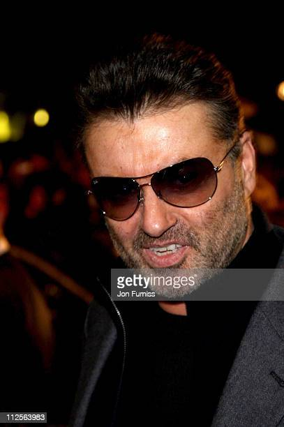 George Michael attends the 'Sleuth' Premiere on November 18 2007 in London