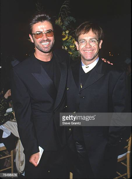 George Michael Elton John in Santa Barbara California